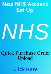 We accept NHS Purchase Orders