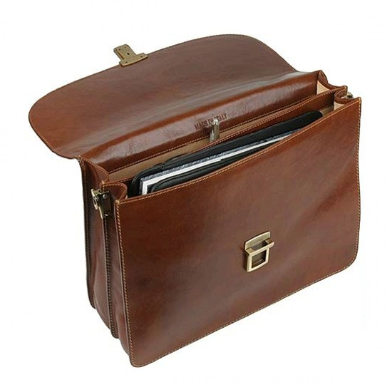 Doctors Bag - Antique Brown Brief Case