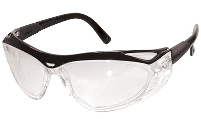 Safety Glasses with Adjustable Temples