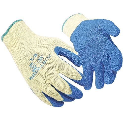 Anti Cut Latex Grip Gloves