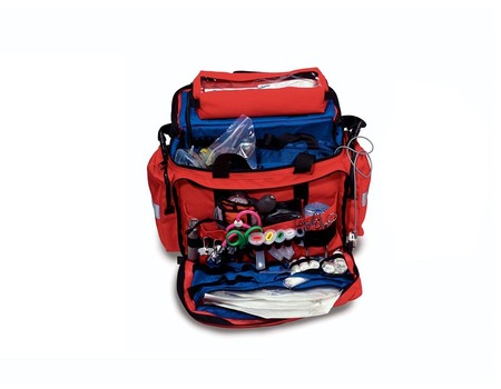 Compact Trauma Bag in Red