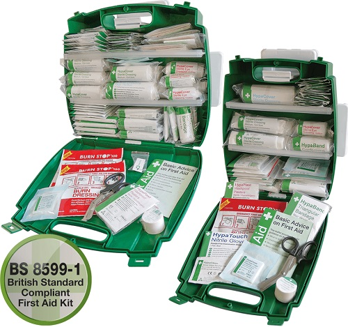 British Standard Compliant Workplace  First Aid Kits