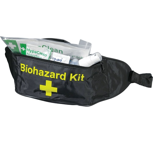 Body Fluid Disposal Bum Bag Kit