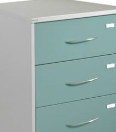 General Records Filing Cabinet - 3 Rows of Records per Drawer