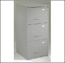 Three-Drawer A3 Filing Cabinet