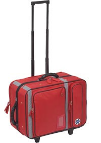 Emergency Respiratory Bag With Trolley - Medical Transportation