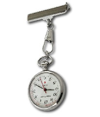Fob Watch In Silver - Classical Style