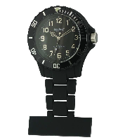 Black Silicon Fob Watch