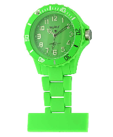 Green Silicon Fob Watch