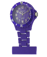 Purple Silicon Fob Watch