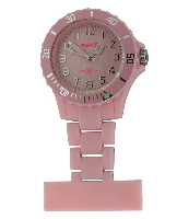 Faded Pink Silicon Fob Watch