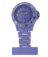 Lilac Silicon Fob Watch
