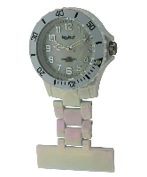 Pale Silicon Fob Watch