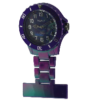 Electric Purple Silicon Fob Watch