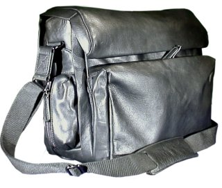 Doctor's Medical Shoulder Bag - Picco Bello Leather
