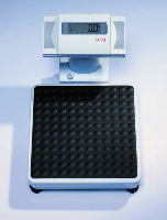 Seca Robust Floor Scale with Automatic Tap-on Function