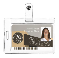 Nurses Two Way ID Holder - Comes With Snap Attachment