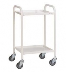 Fully Welded 2 tier Steel Trolley