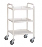 Fully Welded 3 tier Steel Trolley