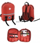 First Aid Kit Bag Rucksack for Emergencies - Polyester
