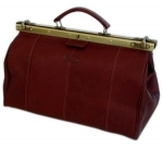 Doctor's Maroon Medical Bag - Egona Rustica