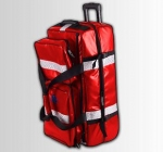 Rescue Emergency Bag On Wheels - With Handles For Oxygen Cylinder