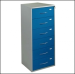 Six Drawer Medical Records Cabinet
