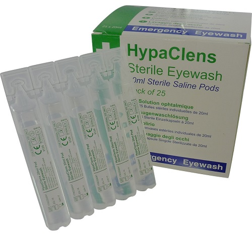 HypaClens Sterile Eyewash Pods