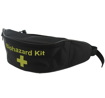 Empty Biohazard Kit Bum Bag In Black