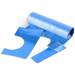 Safewear Disposable Polythene Aprons  5 Rolls of 200