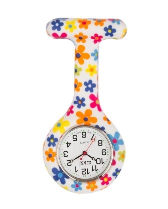 Funky FOB Watch Flower Power