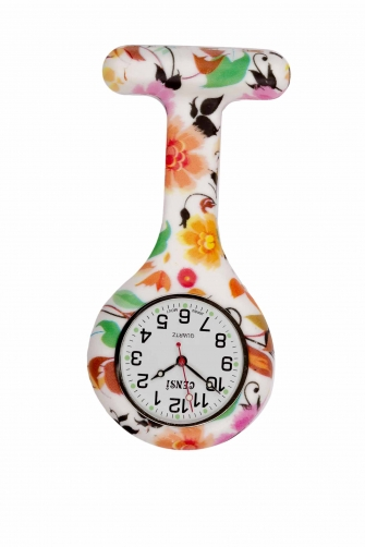 Fun Pattern Silicone FOB Watches
