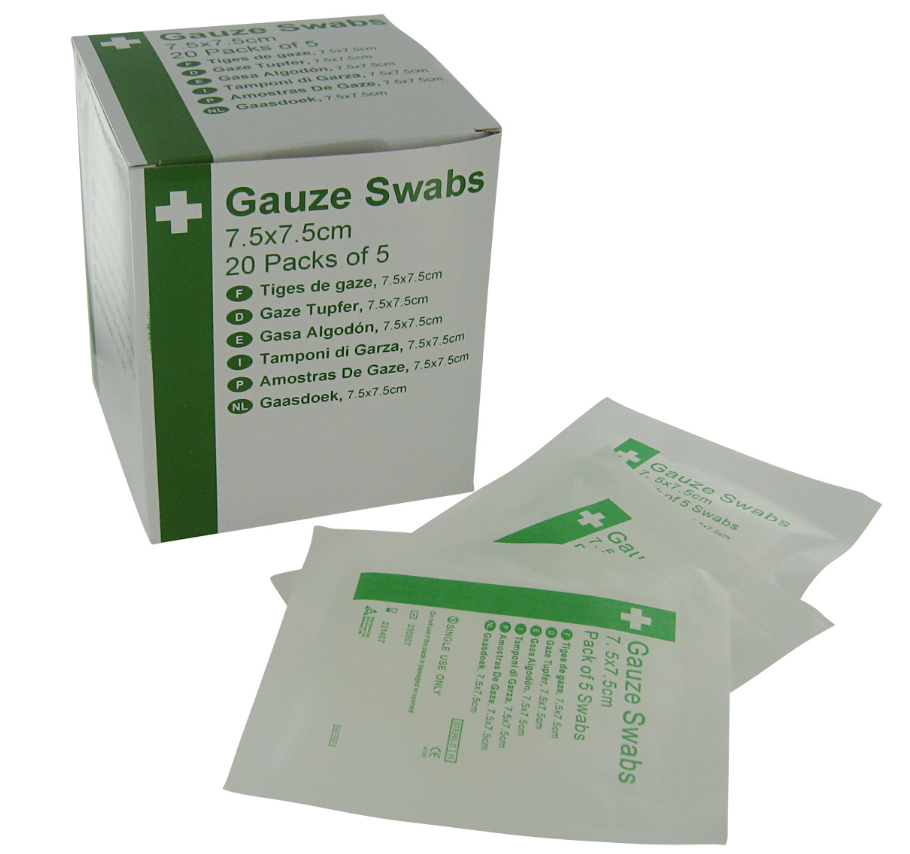 Highly Absorbent Gauze Swabs