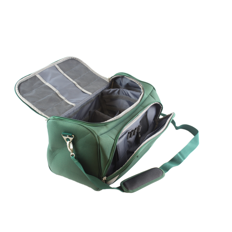 Durable Practical Nurses Bag Dark Green