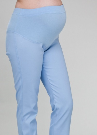Maternity Skinny Fit Medical Scrub Trousers