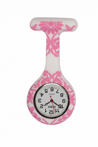 Pretty  FOB Watch  Pink Floral