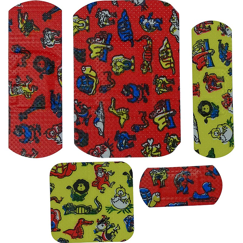 Children's Washproof Plasters Assorted Pack of 100
