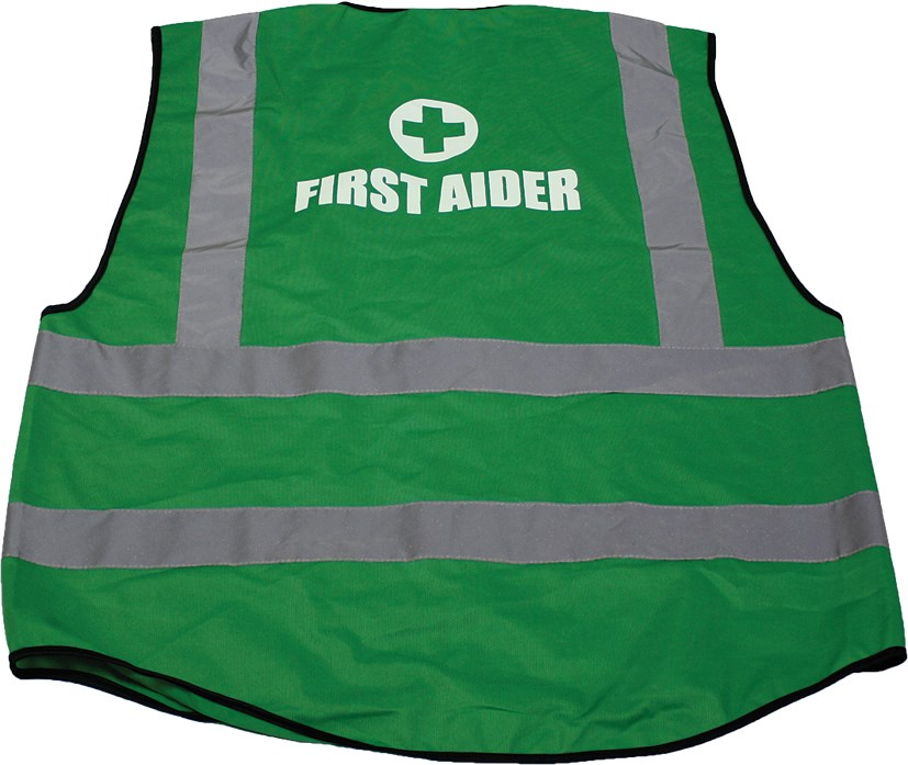 Green Waistcoat First Aider