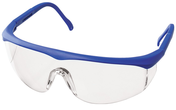 Full  Protective Eyewear With  Colored Frames