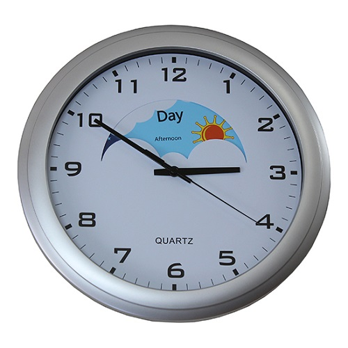 Day & Night Wall Clock  for Dementia  Sufferers