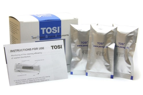 TOSI Test -For Washer Disinfectors  Pack 12
