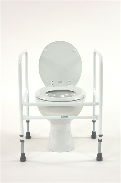 Toilet surround With Adjustable Height