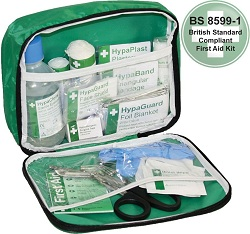 Travel First Aid Kit in a Nylon Case  85991 Compliant
