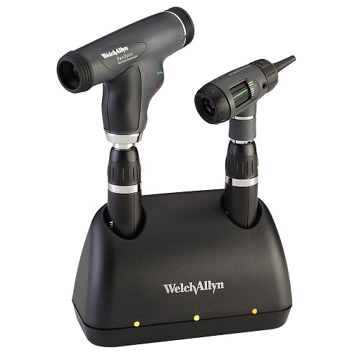 Welch Allyn Prestige PanOptic Desk Diagnostic Set with 2 Handle