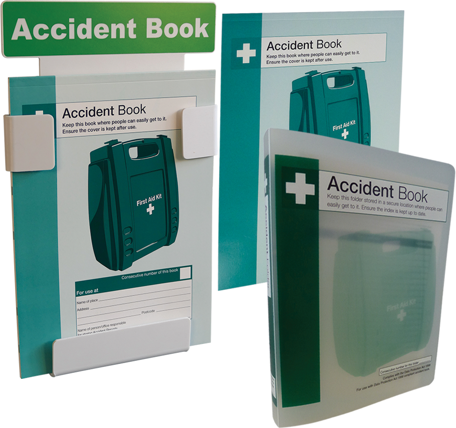 HSE Compliant Accident Books- In A4 and A5 Formats