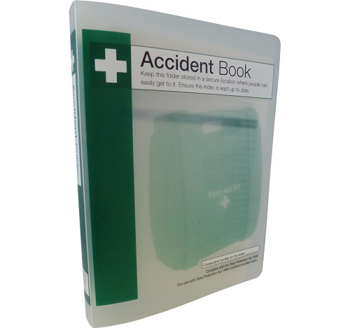 Accident Book Folder A4