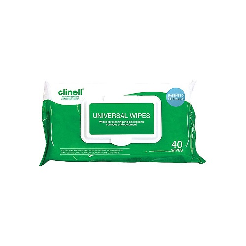 Clinell Universal Wipes  Pack of 40