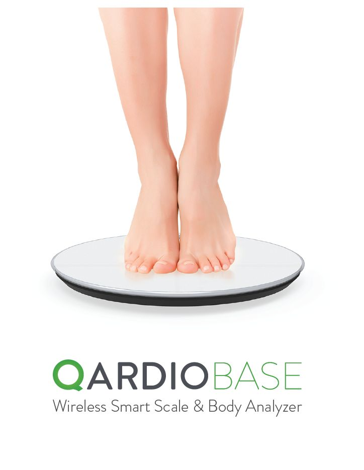 Qardio Base Smart Scale and Full Body Analyzer