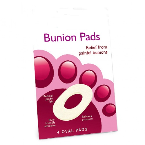 Oval Bunion Pads 4 Per Pack