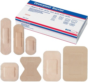 Coverplast Barrier Waterproof Plasters  Pack of 100